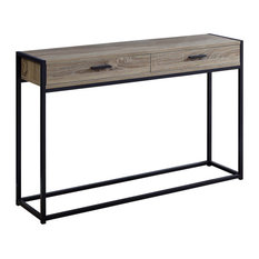 Monarch Specialties Console/Accent Table Dark Taupe - 48-inchL