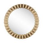 Mercana Modern Mirror, Brown