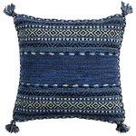 "Surya - Trenza Pillow, 22""x22"", With Down Insert - Trenza Pillow"