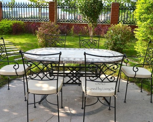 Outdoor dining table oval marble mosaic garden patio table 71 ovali outdoor dining table oval marble mosaic garden patio table 71 ovali outdoor dining watchthetrailerfo