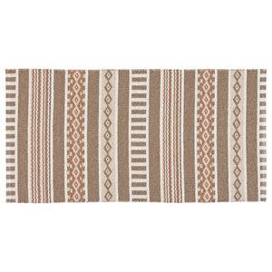 Linne Woven Floor Cloth, Beige, 70x140 cm