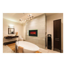 """Enhanced Series Wall Mount/Built-In Electric Fireplace, 26"""""""
