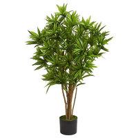 Dracaena Artificial Tree, Green