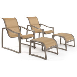 Contemporary Outdoor Lounge Chairs by RST Outdoor