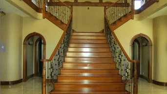 Interoir paint, stain and finish woodwork.