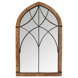 Industrial Wall Mirrors by Stratton Home Decor