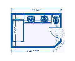 Bathroom Design 11 X 7 7 1/2 x 11 bathroom design. smartest layout?