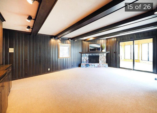 Iso Paint Suggestions To Lighten Up A Room With Dark Wood Paneling