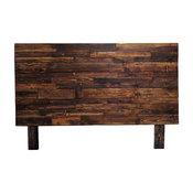 Reclaimed Wood Provincial Twin Headboard, Twin