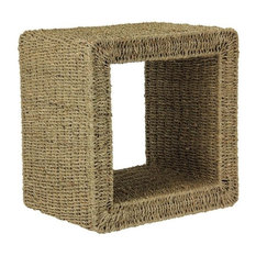 Seagrass End Table   Side Tables And End Tables