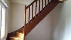 Comment pourrais je peindre un escalier for Peinture sol escalier bois