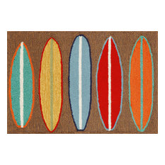 "Frontporch Surfboards Mat, Brown, 24""x36"""