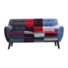 2-Seater Patchwork Sofa