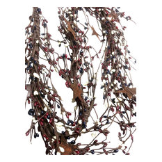"""Pip Berry Garland, Country Mix, Rustic Stars, 42"""""""