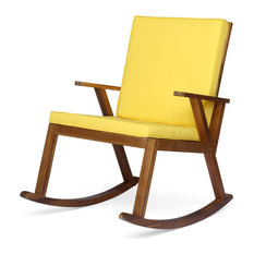 Pleasant 50 Most Popular Yellow Outdoor Rocking Chairs For 2019 Houzz Home Interior And Landscaping Dextoversignezvosmurscom