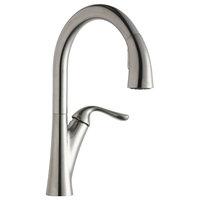 Elkay Harmony Pull-down Spray Kitchen Faucet Lustrous Steel LKHA4031LS