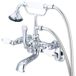 Traditional Tub And Shower Faucet Sets by Water Creation