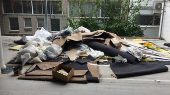 Building waste rubbish removal