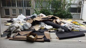 Building waste rubbish removal