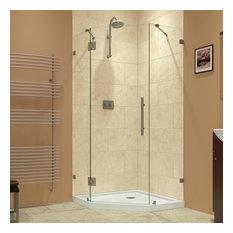 36 inch corner shower kit. DreamLine  Prism Lux Shower Enclosure and SlimLine 42 x42 Base Stalls Kits Houzz
