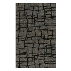 "Rizzy Becker BKR103 1'6"" Sample Charcoal Rug"
