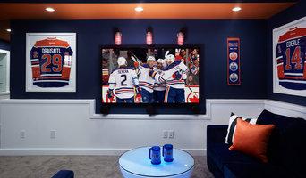 Edmonton Oilers® Fan Cave Coventry Homes - Paisley Park