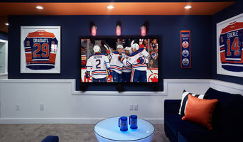 Edmonton Oilers® Fan Cave Coventry Homes - Paisley Park