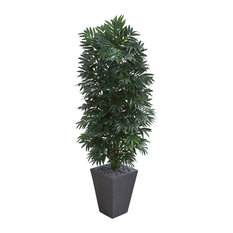5.5 Ft. Double Bamboo Palm Artificial Plant