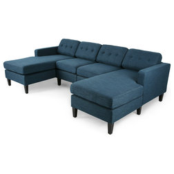 Transitional Sectional Sofas by GDFStudio