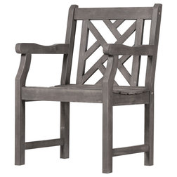 Craftsman Outdoor Dining Chairs by Vifah