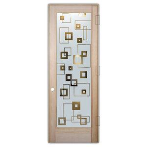 Interior Glass Door Sans Soucie Art Glass Synergy