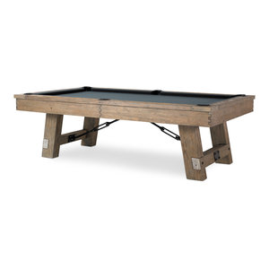 Isaac Pool Table With Accessories, 8'