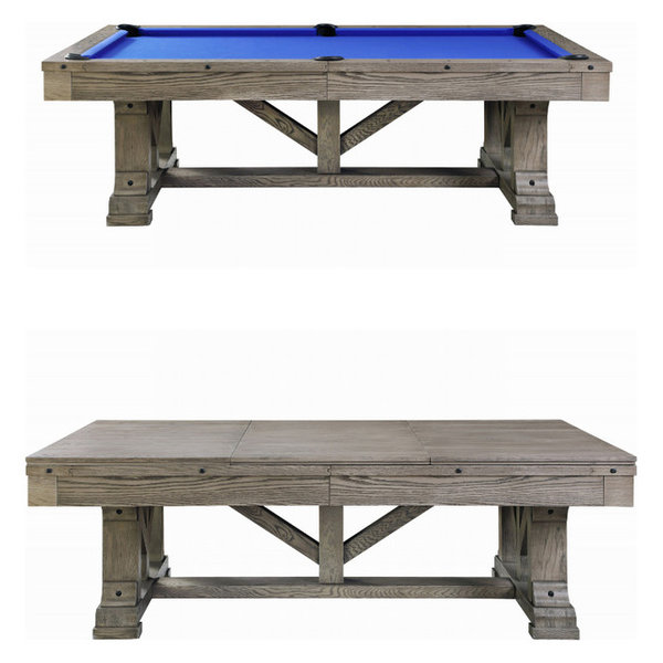 Cross Creek Slate Pool Table w/ Dining Top, 8ft Pool Table w/ Dining T