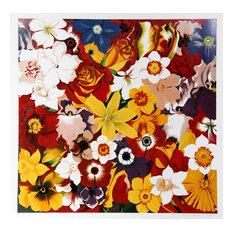 Lowell Blair Nesbitt, Flower Fiesta, Serigraph