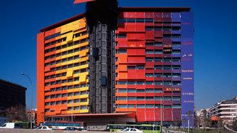 Interiorismo y decoración: Hotel Puerta America Madrid