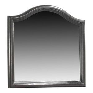 American Woodcrafters Hyde Park Landscape Mirror, Merlot 1310-MR
