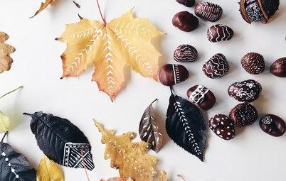 Фотоохота: 51 идея, как создать красивые поделки из листьев