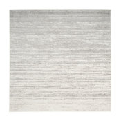 Safavieh Adirondack Collection ADR113 Rug, Ivory/Silver, 10' Square