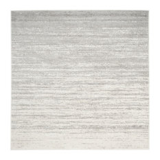 Lauren Area Rug Ivory Silver 10 X10 Square