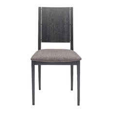 Stacey Dark Grey Dining Chair by Rustic Home Furnishings