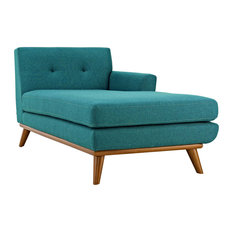 Teal Engage Right-Facing Chaise