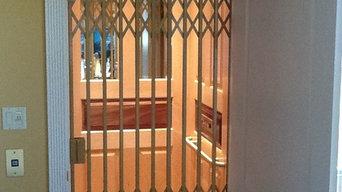 Custom Waupaca Elevator with elegant gates