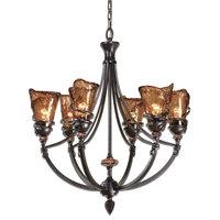 Vitalia 6-Light Oil Rubbed Bronze Chandelier