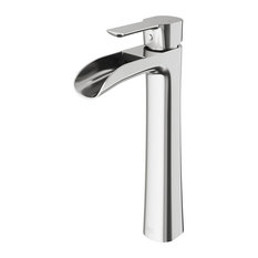 VIGO Niko Bathroom Vessel Faucet, Brushed Nickel
