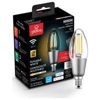 Wi-Fi Smart 40W Equivalent Vintage Filament Tunable Dimmable LED Bulb