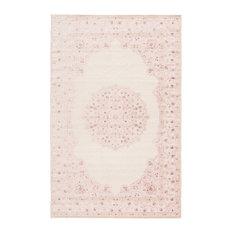 "Jaipur Living Malo Medallion Pink/White Area Rug, 7'6""x9'6"""