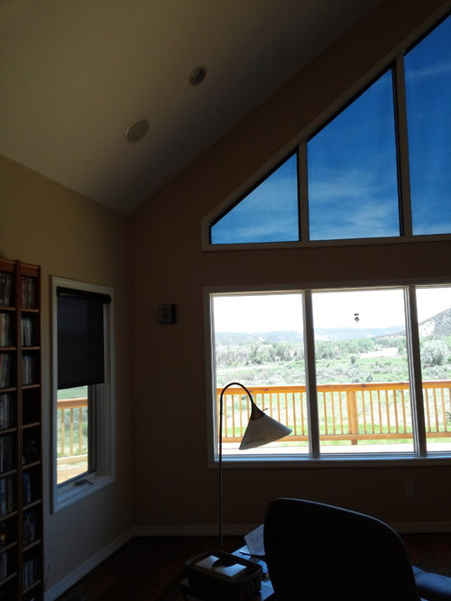 Fixed Interior Solar Screens   Products