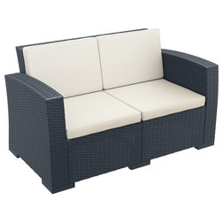 Tropical Outdoor Loveseats by Compamia