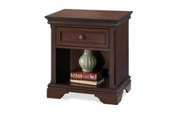Traditional Nightstand in Rich Cherry