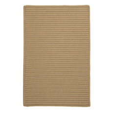 Colonial Mills, Inc - Colonial Mills Simply Home Solid Cuban Sand Square 12' Area Rug - Outdoor Rugs